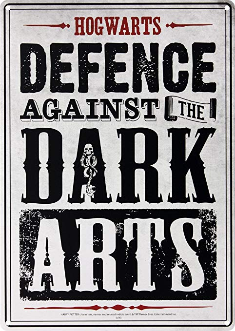 Defence Against The Dark Arts Hogwarts Library