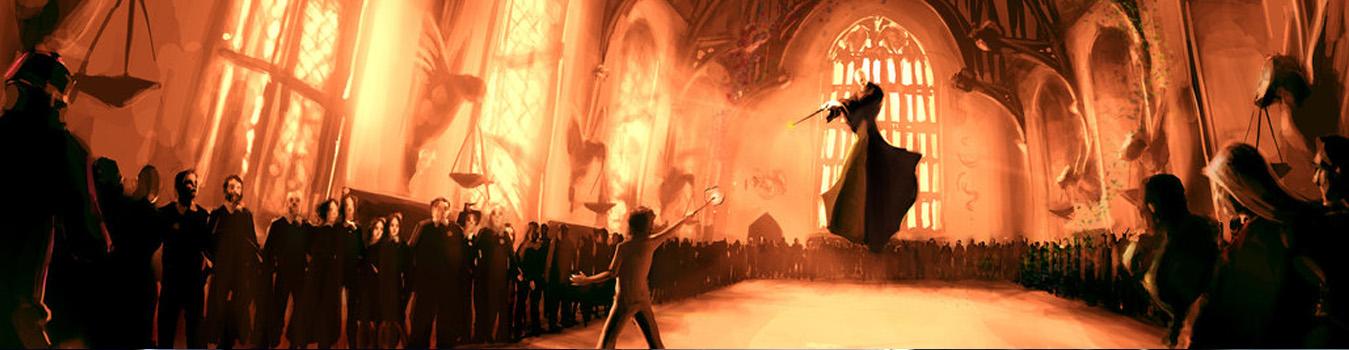 Hogwarts clase en línea encantamientos