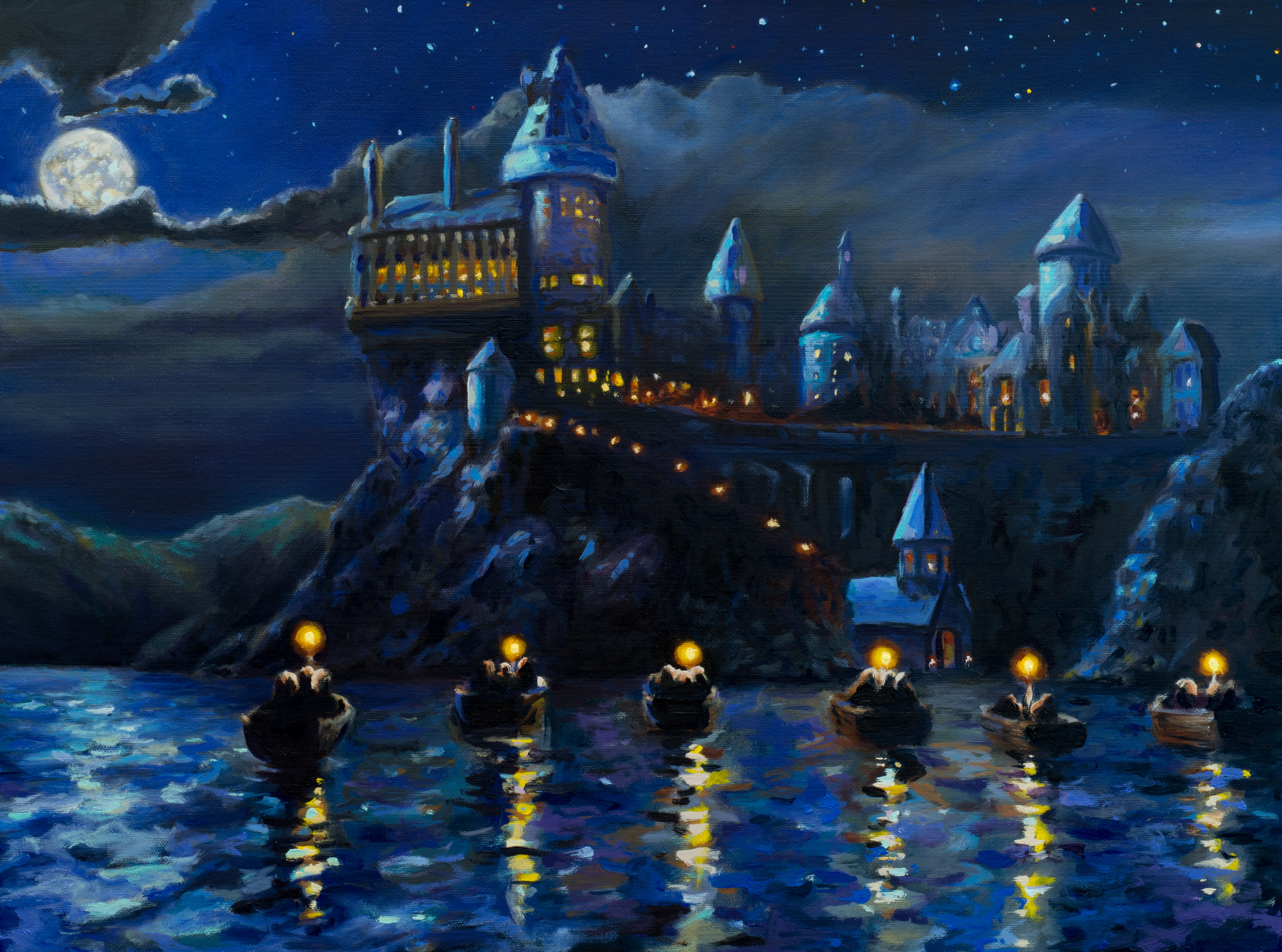 Harry Potter Wall Mural Via Egninora Ravenclaw Hogwarts Is Here
