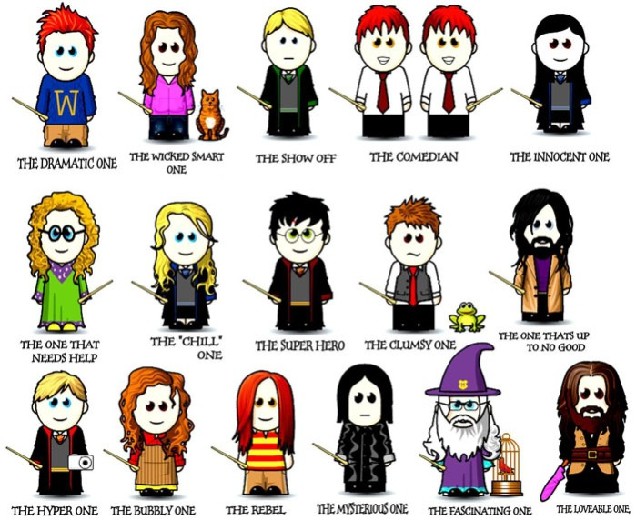 Harry potter funny cartoon