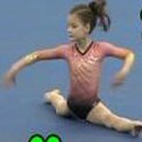 Gymnast Courtney